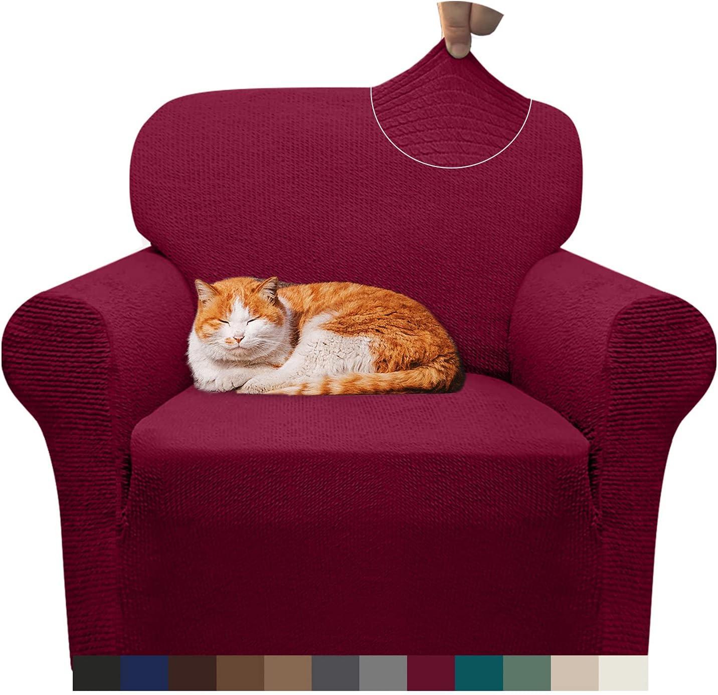 ブランド激安セール会場 デポー Pepibear Super Stretch 1 Piece Cover Spandex Sofa Chair Stylish