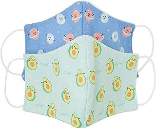 Pack 2 Mascarillas técnicas higiénicas y re-utilizables para niños (+6 años) - Licencia Oficial Mr Wonderful - 20 lavados ...