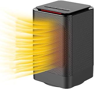 DYS@ Calentador eléctrico de Espacio, Ventilador Calefactor 2 en 1 con Modo oscilante automático de frío y Calor,