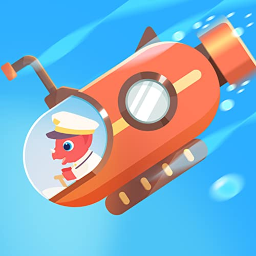 Dinosaur Submarine - Games for kids