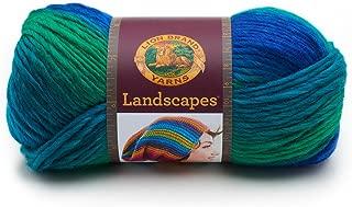 Lion Brand Yarn 545-207 Landscapes Yarn, Blue Lagoon,