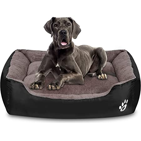 XXL-Large for Large Dogs PUPPBUDD Pet Dog Bed for Medium Dogs ,Dog Bed with Machine Washable Comfortable and Safety for Medium and Large Dogs Or Multiple