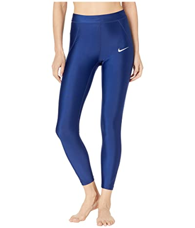 Nike Power Speed 7/8 Tights (Blue Void/Reflective Silver) Women