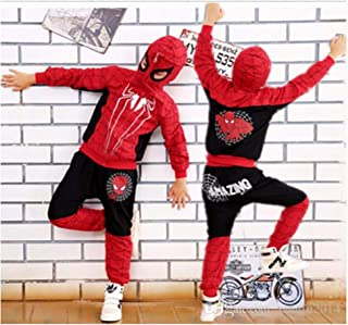 Hoodie and Pants Superhero Set