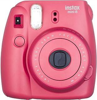 Fujifilm Instax Mini 8 Instant Film Camera - Raspberry Red