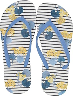 Navy Lily Stripe