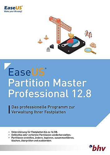 EaseUS Partition Master Professional 12.8 für PC [Download]