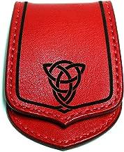 [Leather Craft Luke] Celtica 01 ケルト文様 牛革 ハンドメイド レザー コインケース