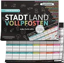 DENKRIESEN – Stadt Land VOLLPFOSTEN® – JUNIOR Edition – Für Kinder..