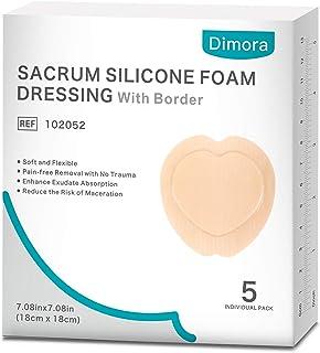 Sacrum Silicone Foam Dressing with Border Adhesive, Dimora Waterproof 7