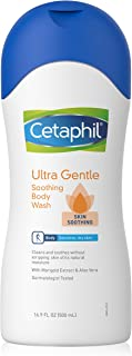 Cetaphil Ultra Gentle Body Wash, Skin Soothing, 16.9 Ounce (Pack of 4)