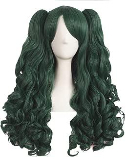 Best green pigtail wig Reviews