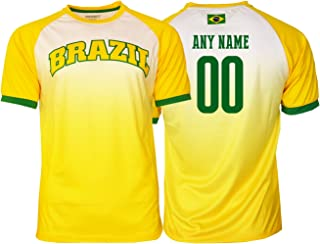 Brasil Soccer Jersey Brazil Adult Training Custom Name and Number New Season