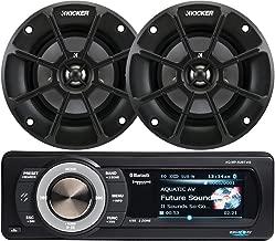Aquatic AV Bundle of 2 Items AQ-MP-5UBT-HS Digital Media Receiver w/Dock with Kicker 40PS42 4