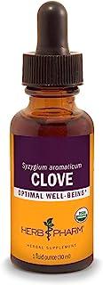 Herb Pharm Certified Organic Clove Liquid Extract - 1 Ounce