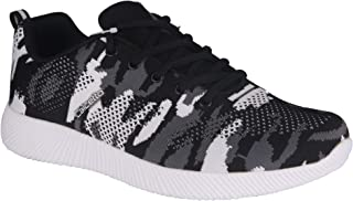 calcetto Tiger Series Black Casual Shoes for Men