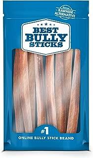 Best Bully Sticks Premium 12-Inch Jumbo Bully Sticks - All-Natural, Free-Range, Grass-Fed, 100% Beef Single-Ingredient Dog Chews