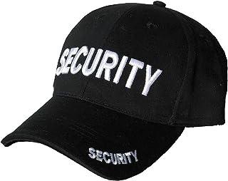 Mens Mlitary Combat Black Security Baseball Cap Hat Sun Visor New