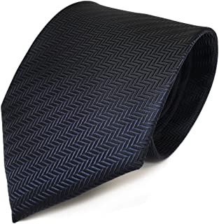 TigerTie Designer Krawatte in gestreift gemustert
