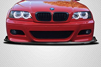 Carbon Creations Replacement for 2001-2006 BMW M3 E46 Circuit Front Lip Spoiler - 1 Piece