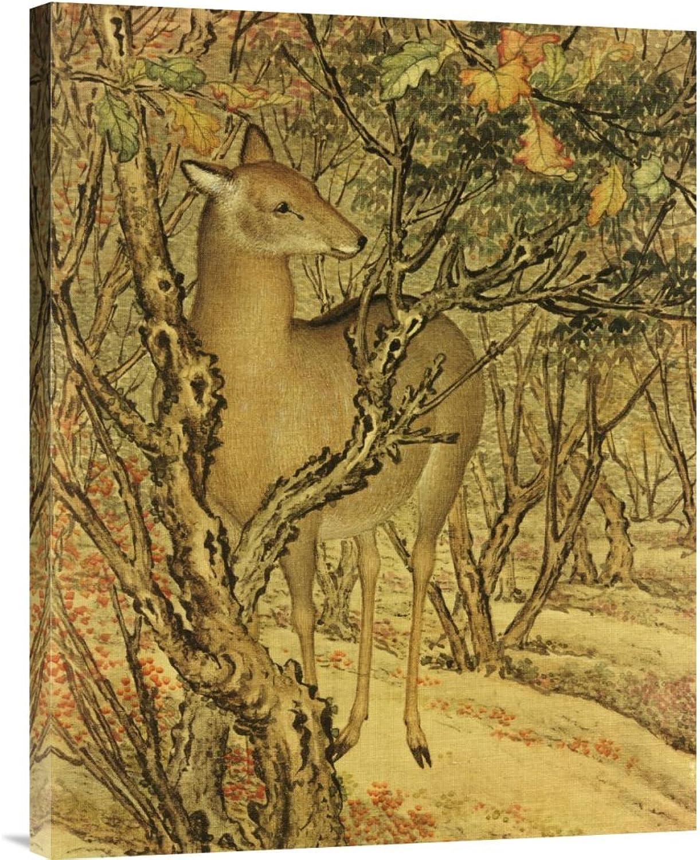Global Galerie Budget gcs-265527–76,2–360,7 cm lang lang lang Shining Detail von Herbst Schreie auf der Artemesia Uni Galerie Wrap Giclée-Kunstdruck auf Leinwand Art Wand B01K1Q3G4O | Hohe Qualität  44bc1a