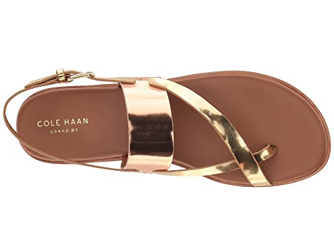 Cole Haan Anica Thong Sandal Ch Cordovan/Wild Ginger Specchio