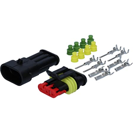 100 Stück Amp 0 0183024 1 Superseal Stiftkontakt 0 75 1 5mm Ersatzkontakt Für Stiftgehäuse Auto