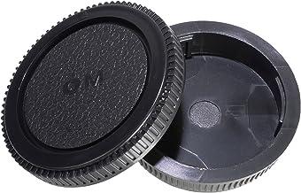 CamDesign Rear Lens Cap and Body Cap Set Compatible with Olympus OM System fits OM-1, OM-2, OM-3, OM-4, OM-10, OM-20, OM-3...
