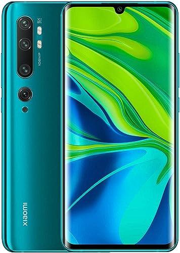 Xiaomi Mi Note 10 Pro Smartphone, Dual Sim, 256 GB, 8 GB RAM - Aurora Green