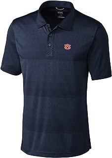 NCAA Auburn Tigers Short Sleeve Crescent Print Polo, 3X-Large, Liberty Navy