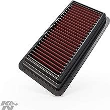 K&N engine air filter, washable and reusable:  2014-2019 Honda Civic L4 1.5L 33-5044