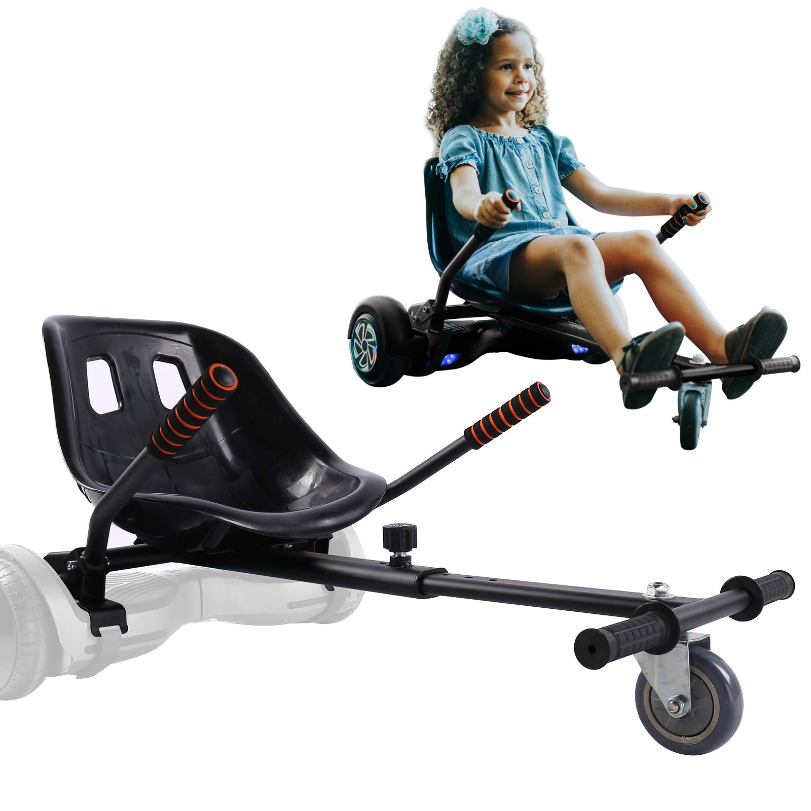 """Go Kart Car Seat Adjustable Holder for Most Self Balance Balancing Scooter 17/"""""""