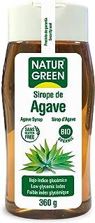 NaturGreen Sirope de Agave Bio 250ml - 3 de 360 gr. (Total 1080 gr.)