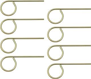 Emergency Keys for Interior Door Locksets - Interior Door Key Pin for Bedroom and Bathroom Doors Schlage Compatible - Emergency Door Lock Pin Key Set of 8