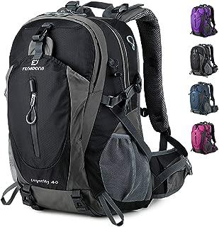 FENGDONG 40L Waterproof Lightweight Hiking,Camping,Travel Backpack for Men Women