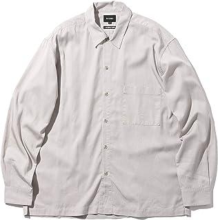 [ビームス] カジュアルシャツ ソリッド ルーズフィット シャツ メンズ