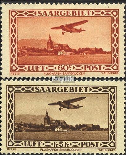 varios tamaños Prophila Collection SAAR 158-159 (Completa.edición.) 1932 Correo aéreo aéreo aéreo (Sellos para los coleccionistas) Aviación  nuevo listado