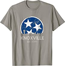 Vintage Knoxville Shirt Distressed Blue Tennessee State Flag