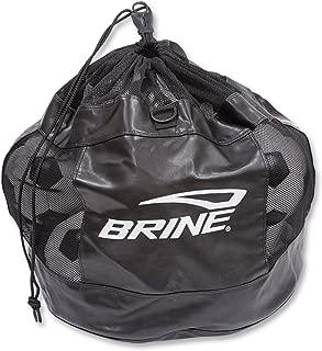 Brine Soccer Championship Ball Bag (Black, OSZ)