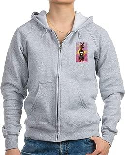 Ms Marvel Standing 2 Zip Hoodie