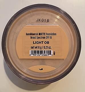 Best bare minerals foundation light 08 Reviews