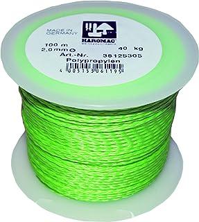 Haromac Metselaarsnoer groen, 2mmx100m, PP, fluoriserend, 38125305