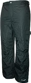 Columbia Men's BULL LAKE Ski Snowboard Waterproof Black Pants (XXL)