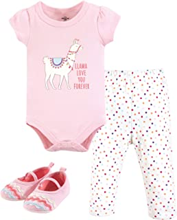 Little Treasure Unisex Baby Bodysuit, Pant and Shoes