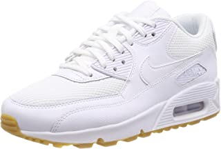Dettagli su Nike Air Max 90 Donne Scarpe Sportive per Tempo Libero Nere Bianche 325213 060