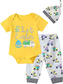 Toy Car Outfit Set Baby Boy Girls Pant Clothing Sets