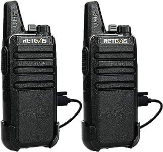 Retevis RT622 Walkie Talkie, Walkies Talkies Profesionales PMR446 VOX 16 Canales Equipos Transmisores-Receptores CTCSS/DCS...