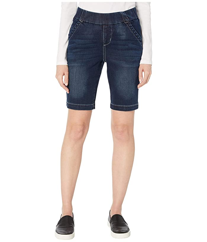 Jag Jeans Petite Gracie Pull-On Bermuda Shorts (Baltic Blue) Women's Shorts