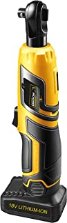 18 Volt Rechargeable Cordless Torque Ratchet Wrench