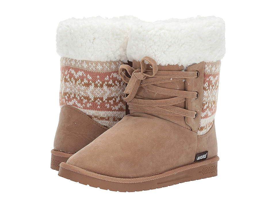 MUK LUKS Melba Boot (Camel) Women